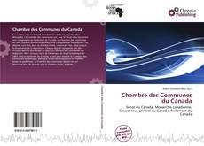 Buchcover von Chambre des Communes du Canada