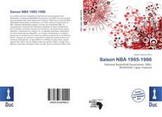 Portada del libro de Saison NBA 1985-1986