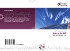 Bookcover of Crocodile Oil