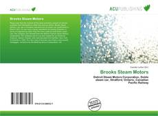 Bookcover of Brooks Steam Motors