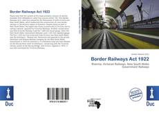 Portada del libro de Border Railways Act 1922