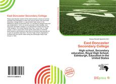 Bookcover of East Doncaster Secondary College