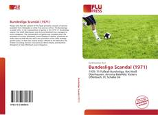 Bookcover of Bundesliga Scandal (1971)
