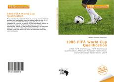 Portada del libro de 1986 FIFA World Cup Qualification