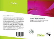 Amer Abdulrahman的封面