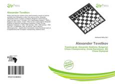 Bookcover of Alexander Tsvetkov