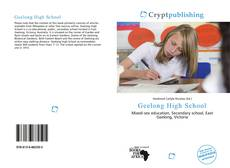 Bookcover of Geelong High School