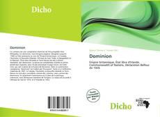 Buchcover von Dominion
