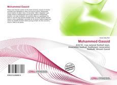 Couverture de Mohammed Gassid