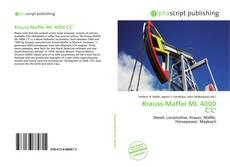 Bookcover of Krauss-Maffei ML 4000 C'C'
