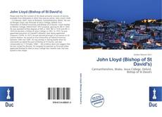 Bookcover of John Lloyd (Bishop of St David's)