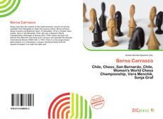 Berna Carrasco kitap kapağı