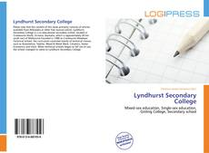 Bookcover of Lyndhurst Secondary College