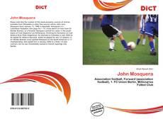 Portada del libro de John Mosquera