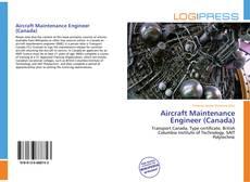 Buchcover von Aircraft Maintenance Engineer (Canada)