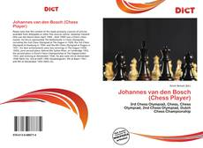 Bookcover of Johannes van den Bosch (Chess Player)