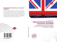 Bookcover of Department for Business, Innovation and Skills