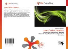 Buchcover von Juan Carlos Tedesco