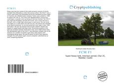 Bookcover of FCM F1