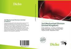 Buchcover von 3rd Mechanised Division (United Kingdom)