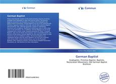 Bookcover of German Baptist