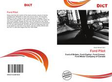 Bookcover of Ford Pilot