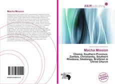 Capa do livro de Macha Mission
