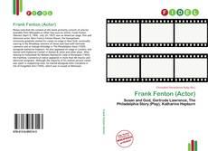 Portada del libro de Frank Fenton (Actor)