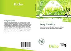 Copertina di Betty Francisco
