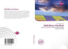 Portada del libro de 2008 Music City Bowl