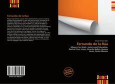 Copertina di Fernando de la Rúa