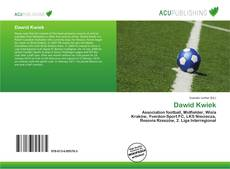 Bookcover of Dawid Kwiek