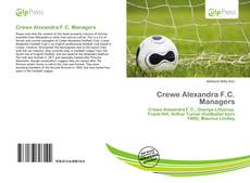 Bookcover of Crewe Alexandra F.C. Managers