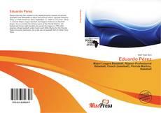 Capa do livro de Eduardo Pérez