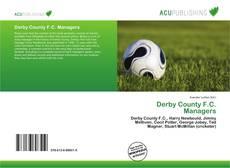 Portada del libro de Derby County F.C. Managers