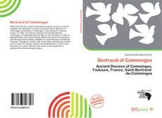 Bertrand of Comminges kitap kapağı