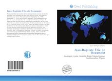 Bookcover of Jean-Baptiste Élie de Beaumont