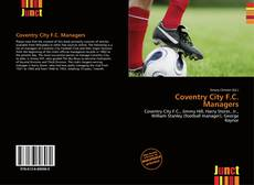 Bookcover of Coventry City F.C. Managers