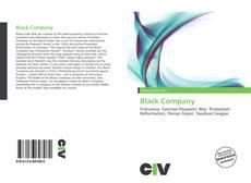 Copertina di Black Company