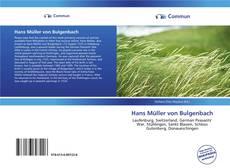 Bookcover of Hans Müller von Bulgenbach