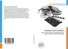 Buchcover von George Dunn (Actor)