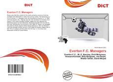 Capa do livro de Everton F.C. Managers