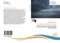 Bookcover of Civilian Public Service