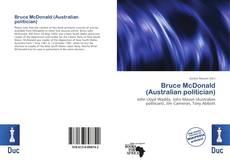 Copertina di Bruce McDonald (Australian politician)