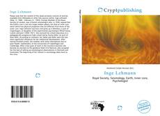 Bookcover of Inge Lehmann