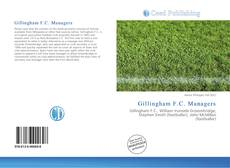 Bookcover of Gillingham F.C. Managers