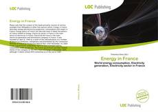 Bookcover of Energy in France