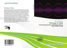 Bookcover of Energy in Italy