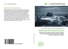 Capa do livro de Boeing B-29 Superfortress