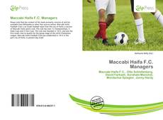 Bookcover of Maccabi Haifa F.C. Managers
